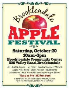 A past year's Apple Fest poster
