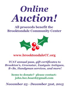BCC Holiday Auction!