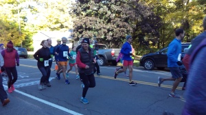 71 runners in the annual Apple Fest 5-k!